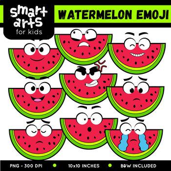 Fruits Emoji Clip Arts COLOSSAL Bundle