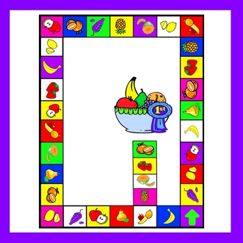 Fruits Game Board