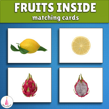 Fruits and Berries Inside Matching Cards