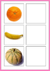 Fruit Inside and Outside Matching Activity