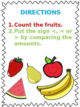 Fruits Maths