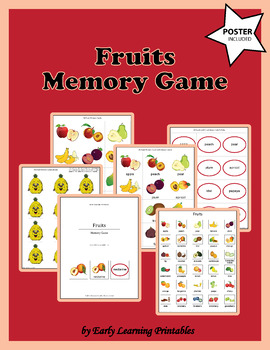 Fruits Memory Game
