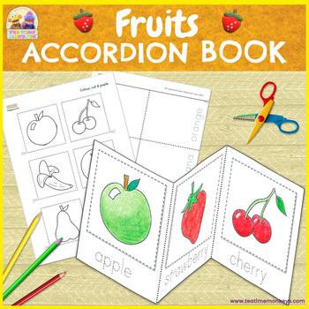 Fruits Minibook - Cut & Paste Printable