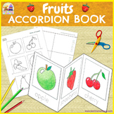 Fruits Minibook - Cut & Paste Printable