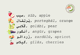Fruits, Nuts & Berries in Persian