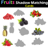 Fruits - Shadow Matching Cards (Real Pictures)