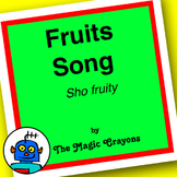 English Songs ESL, EFL - Food - Fruit Song #1