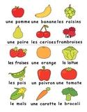 Fruits & Vegetables / Fruits et Legumes FRENCH Games