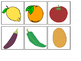 Fruits & Vegetables Matching