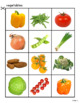 Fruits and Vegetables Sorting Activity for Special Education