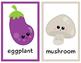 Fruits & Vegetbles Flashcards Bundle for Pre-k and Kindergarten