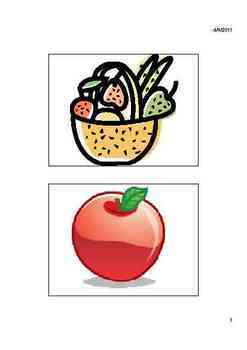 Fruits Vocabulary Lists, Activities, Crossword, Games, and Quiz Unit