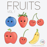 Fruits Vol 1 Clipart by Isma Clips