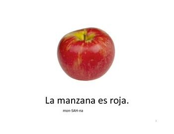 Las frutas y los colores: Fruits and Colors Spanish Easy Reader