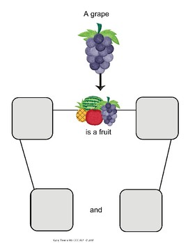 Fruit and Farm Animals Language Skills Packet