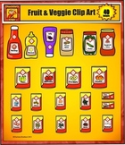 Food Clip Art from Grocery Store - Canned goods by Charlotte's Clips