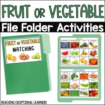 Fruit or Vegetable File Folder
