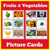Fruit and Vegetable Cards | Foods