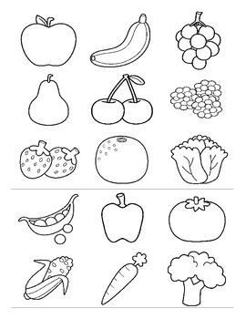 Fruits and Vegetables ESL Games