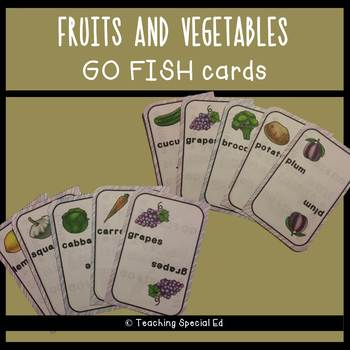 Fruits and Vegetables Go Fish