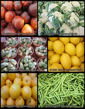 Fruits and Vegetables Photos (BUNDLE)