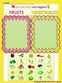 Fruits and Vegetables Sort