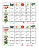 Fruits and Vegetables in English Grid vocabulary activity