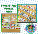 Fruits and Veggie Math Set