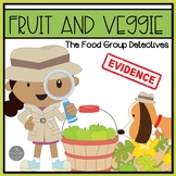 Fruits and Veggies Emergent Readers and Sorting Activities