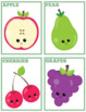 Fruits and Veggies Flash Cards