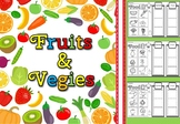 Fruits and vegetables sort(free)