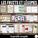 Fruits et légumes - Ensemble - French fruits and vegetables - Bundle