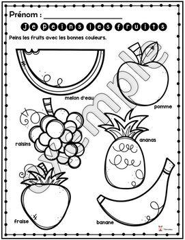 Fruits et légumes en peinture