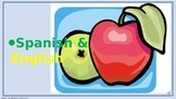 Fruits. Power Point Presentation with audio.