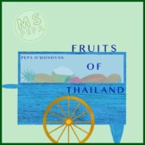 Fruits of Thailand Picture Book