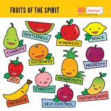 Fruits of the Holy Spirit Clip Art
