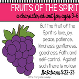 Fruit of the Spirit Bible Unit