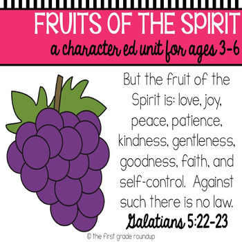 Fruit of the Spirit Bible Unit