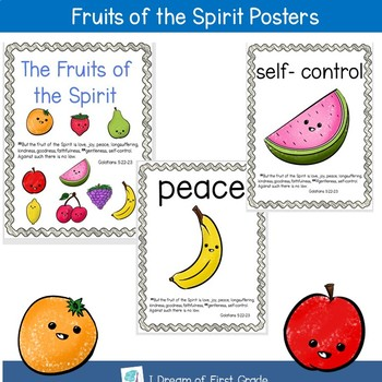 Fruits of the Spirit Posters