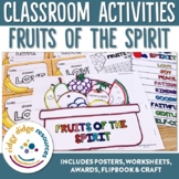 Fruits of the Spirit Posters, Worksheets & Activities