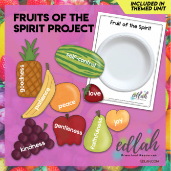 Fruits of the Spirit Project
