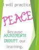 Fruits of the Spirit Rules Posters- GREEN