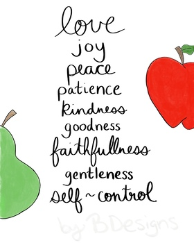 Fruits of the Spirit graphic