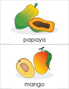 Fruits (set I) Picture Flashcards
