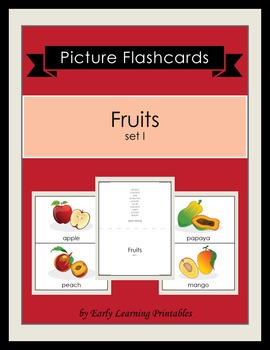 Fruits (set I) Picture Flashcards