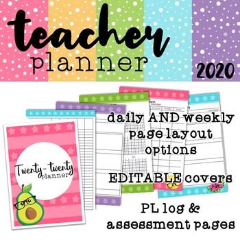 Fruity 2020 Teacher Planner