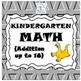 Kindergarten Math (Addition up to 18)
