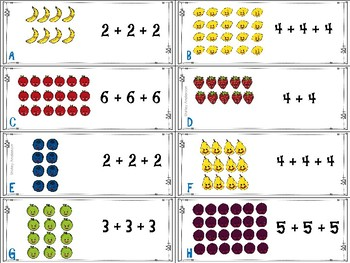 Fruity Arrays- Repeated Addition