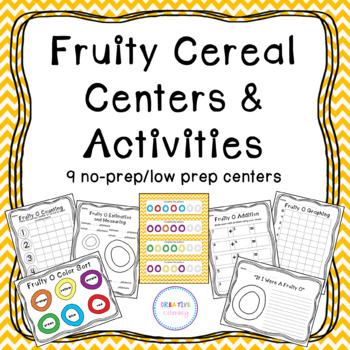 Fruity Cereal Centers and Activities