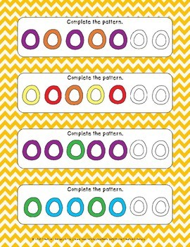 Fruity Cereal Pattern Cards